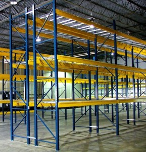 Used Pallet Rack Uprights East Canadian, OK